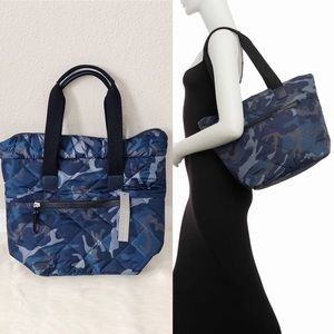 ✨New SQUARED SONDRA ROBERTS Camo Nylon Tote Bag